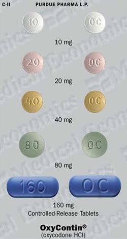 Picture of OxyContin